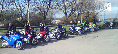 Group Ride Gathering